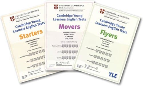 Examenes oficiales Cambridge
