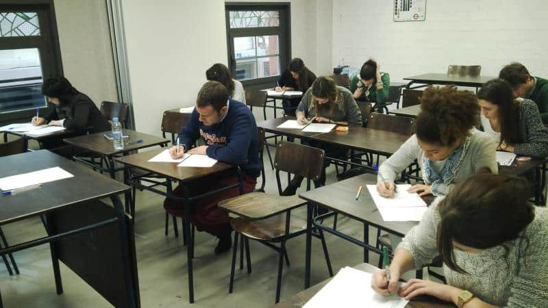 examen Cambridge Zaragoza