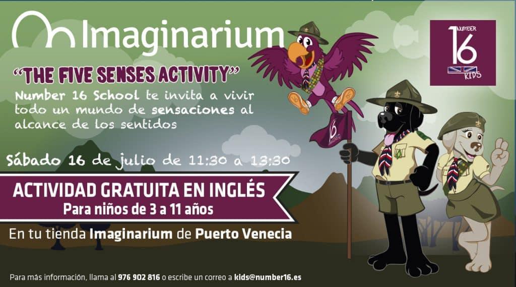 Actividades en inglés para niños Zaragoza