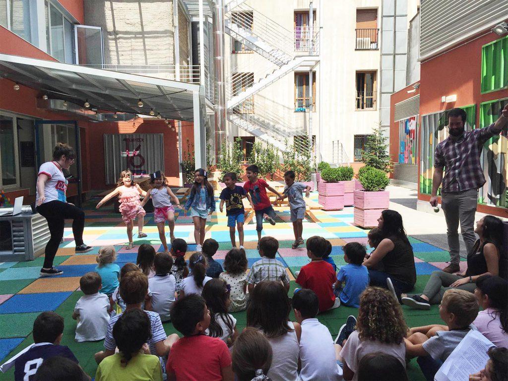 summer camp kids Zaragoza