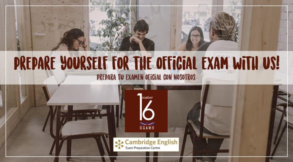 Exámenes de inglés en Number 16 School