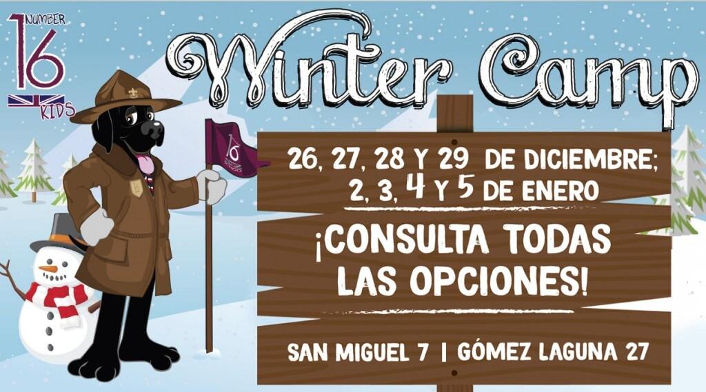Campamento en inglés en Navidad para niños Number 16 School