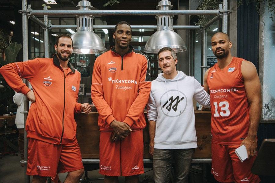 Number 16 School nuevo colaborador oficial del Basket Zaragoza