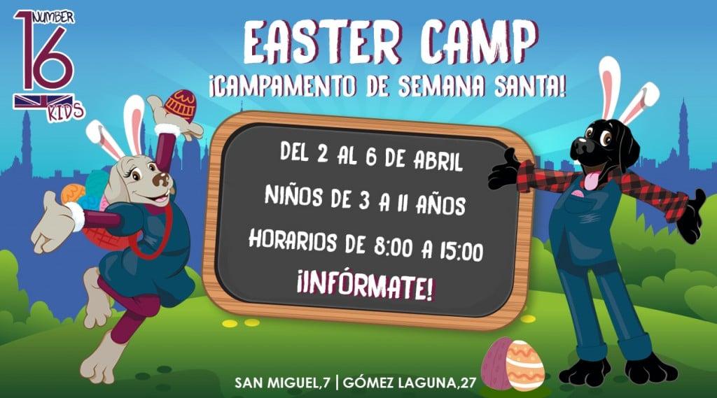 Campamento en Semana Santa en Inglés para niños