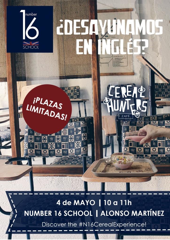 Actividad en inglés en Madrid