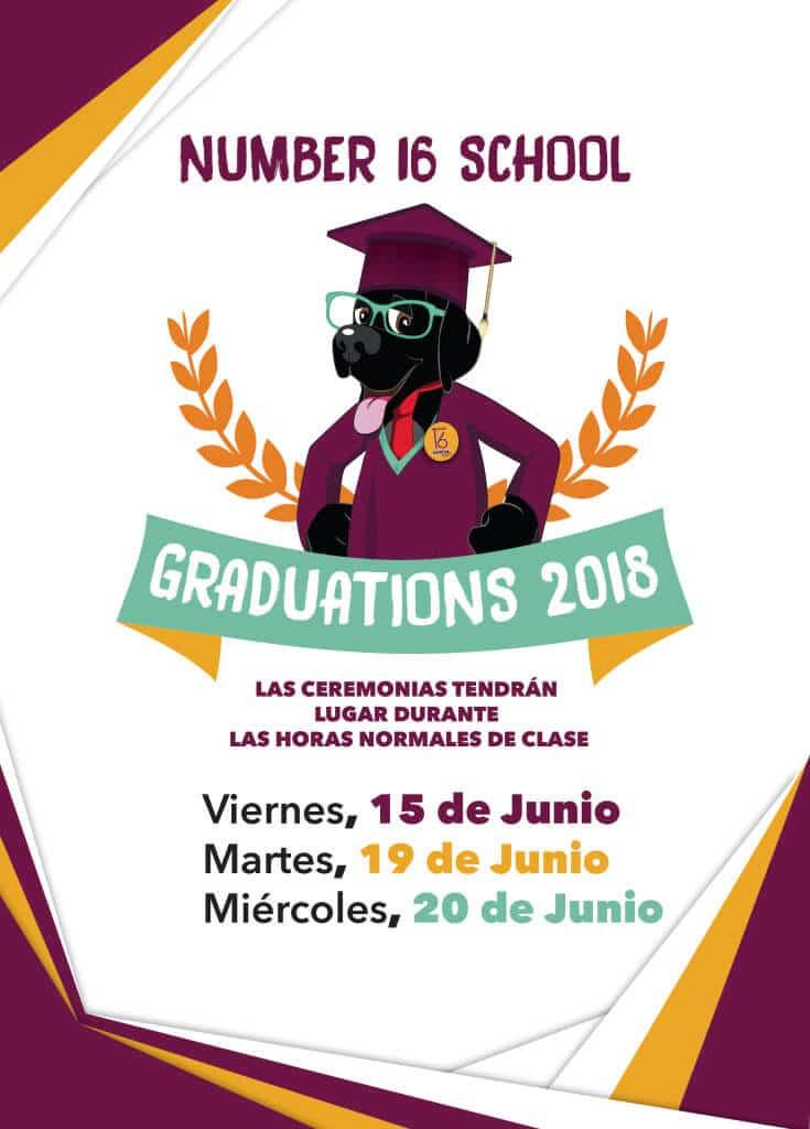 Cartel Graduaciones 2018