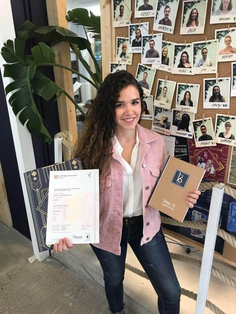Raquel Aventín, experiencias alumnos