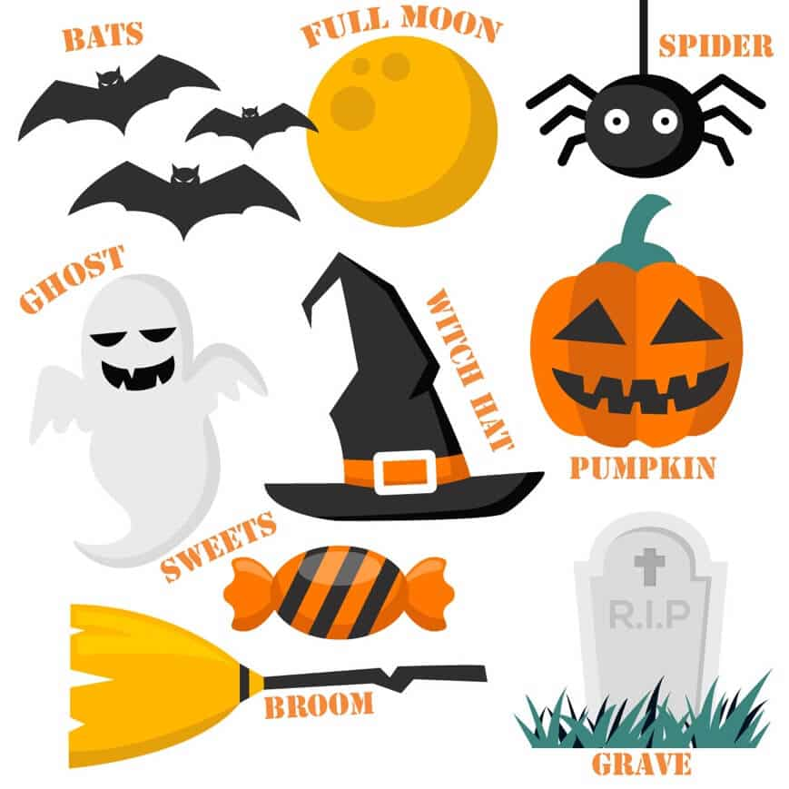 Vocabulario en inglés para Halloween - Academia de inglés Number 16 School